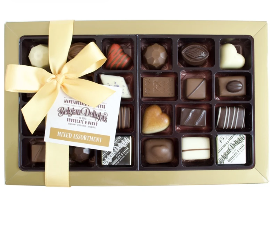 Chocolates - Belgium Delights (Mixed Assortment Box 30pc)