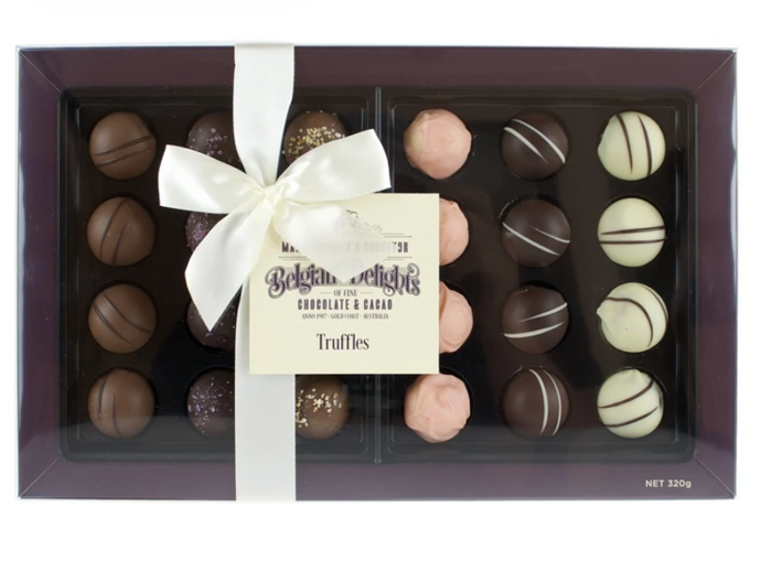 Chocolates - Belgium Delights (Truffles Box 24pc)