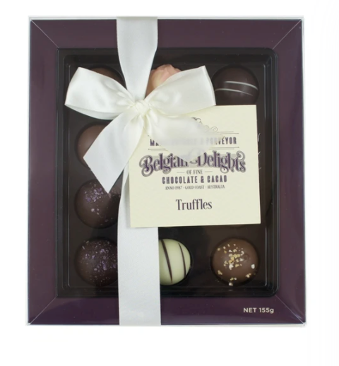 Chocolates - Belgium Delights (Truffles Box 12pc)
