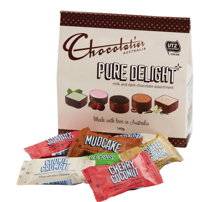 Chocolates - Chocolatier (Pure Delight Chocolate Assortment 140g)