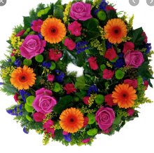 Load image into Gallery viewer, Florist Choice Bright Wreath