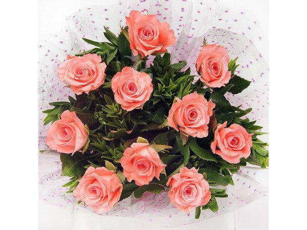 Bella (Pink, yellow, orange or white roses)