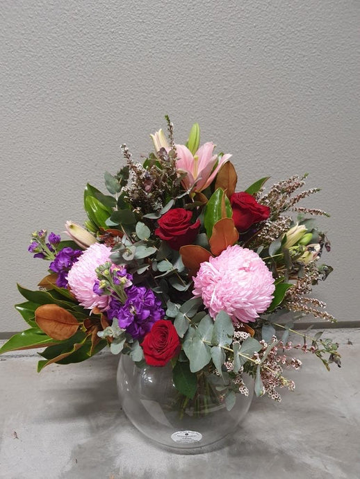 Pick of the Day - $95 - Fishbowl Arrangement (with fishbowl)