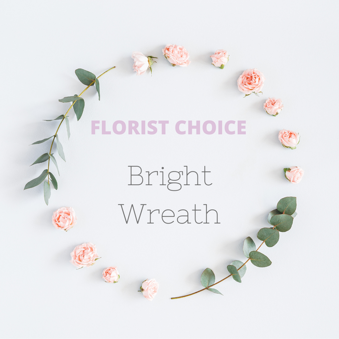 Florist Choice Bright Wreath