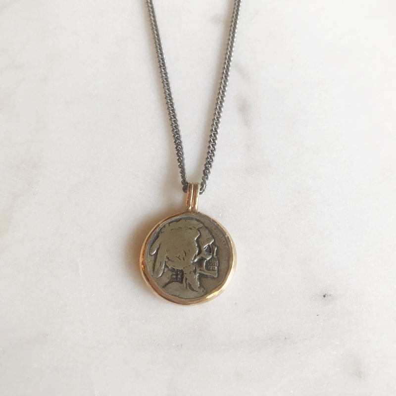 Hobo Nickle Necklace