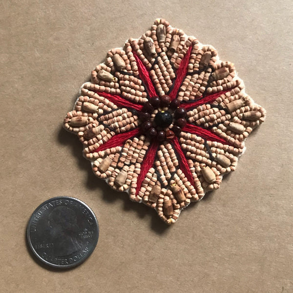 Beaded Medallion Patch