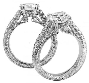 Platinum Engagement Ring - 33