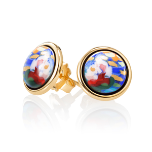 FreyWille - Hommage A' Claude Monet - Earrings Cabochon