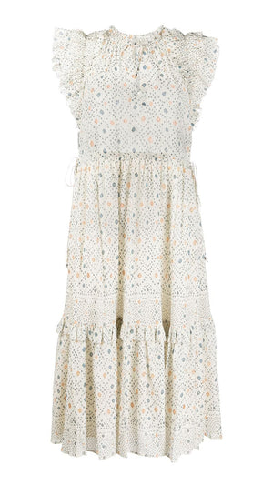 Ulla Johnson Linnea Dress - Cream Print