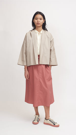 Sofie D'Hoore Candy Cotton Jacket in Woven Desert