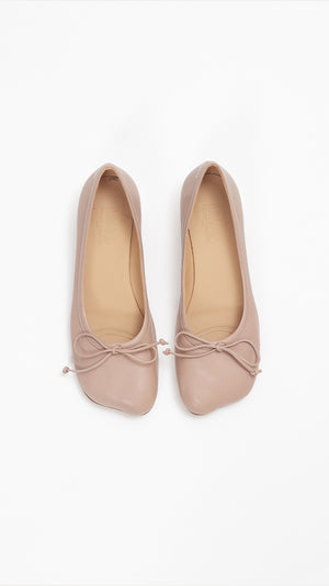 MM6 by Maison Margiela Ballerina Flat in Tuscany