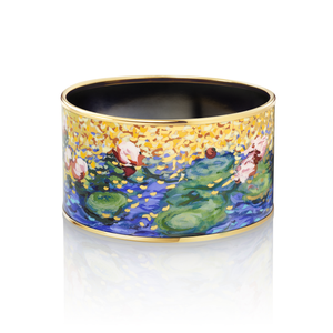 Hommage A' Claude Monet - Bordered Bangle Diva - Orangerie