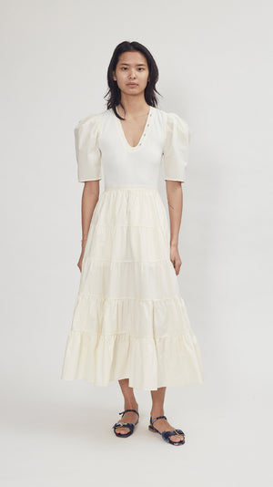 Ulla Johnson Rory Dress in Blanc