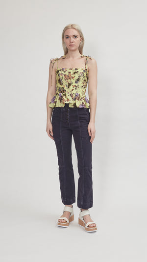 Ulla Johnson Effie Top in Primrose
