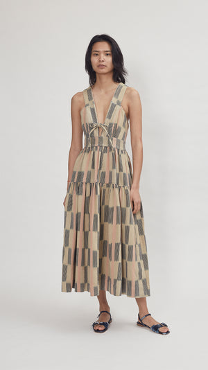 Ulla Johnson Maki Dress in Sand