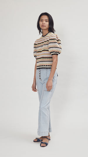 Ulla Johnson Irene Pullover in Honey
