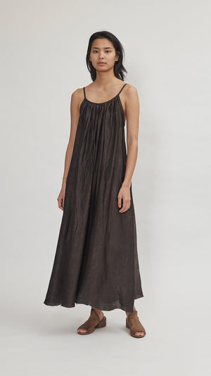 Elsa Esturgie Embrun Dress in Brown
