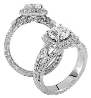 Platinum Engagement Ring - 32