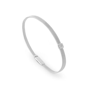 Marco Bicego Masai 18K Single Station Diamond Bracelet in White Gold