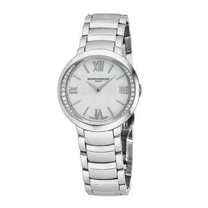 Baume & Mercier Ladies Promesse Diamond + MOP Watch 10160