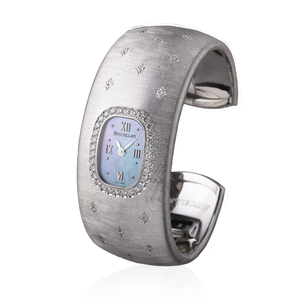 Buccellati Cleopatra White Gold Watch Bangle