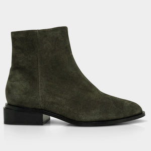 Clergerie Algue Crost Xenon Bootie - Green