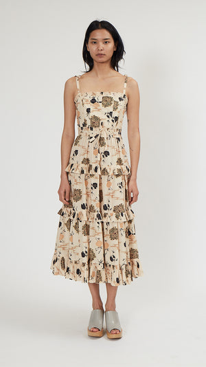 Ulla Johnson Lune Dress in Daisy