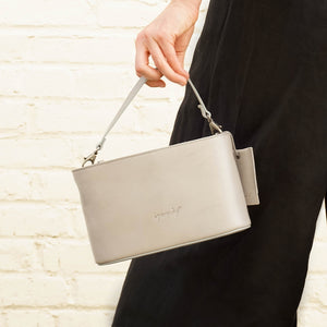 Marsell Mandorla Small Purse - Grey
