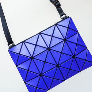 Issey Miyake Bao Bao Lucent Matte Crossbody Bag in Purple