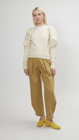 Ulla Johnson Philo Pullover in Creme