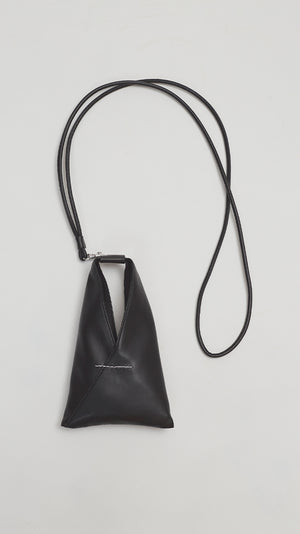 MM6 by Maison Margiela Mini Nappa Bag in Black