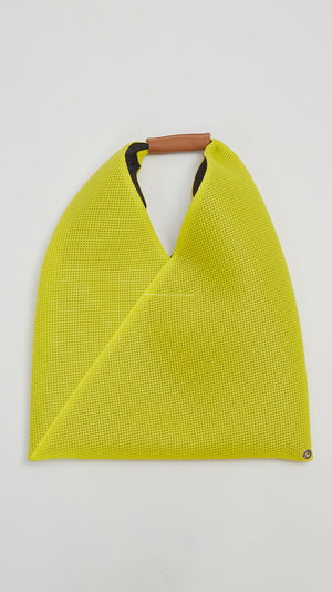 MM6 by Maison Margiela Japanese Mesh Tote in Yellow