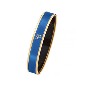 Monochrome Bordered Bangle Mademoiselle - Lapis Blue
