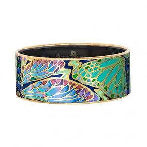 Hommage a Alphonse Mucha Papillon - Bordered Bangle Donna