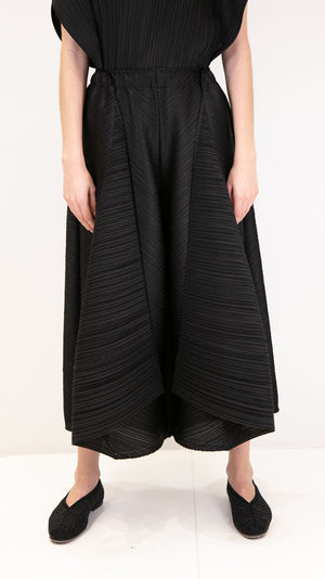 Issey Miyake Pleats Please Motion Colors Pants in Black