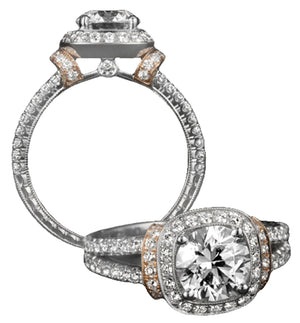 Platinum Engagement Ring - 31