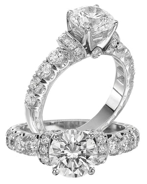 Platinum Engagement Ring - 30