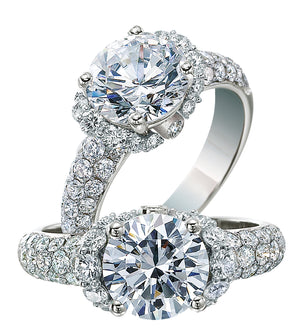 Platinum Engagement Ring - 28