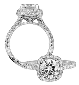 Platinum Engagement Ring - 26