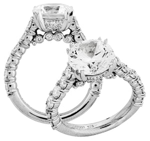 Platinum Engagement Ring - 25