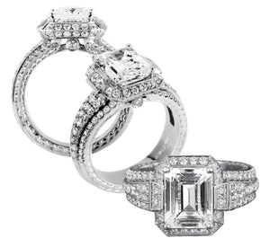 Platinum Engagement Ring - 23