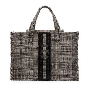 Kooreloo Epiphany Book Tote - Domino Tweed Bag