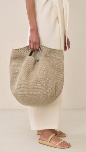 Lauren Manoogian Bowl Bag in Natural