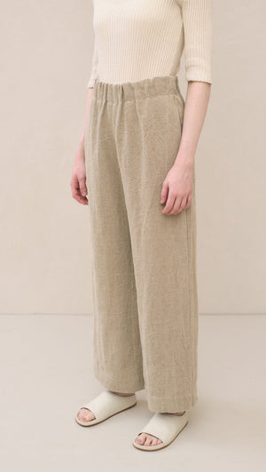Lauren Manoogian Burlap Pants in Natural