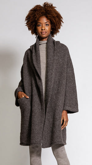 Lauren Manoogian Capote Coat in Barnwood