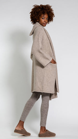 Lauren Manoogian Capote Coat in Oatmeal