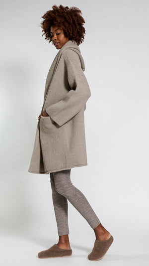 Lauren Manoogian Capote Coat in Stoneware