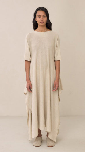 Lauren Manoogian Plane Dress in Natural