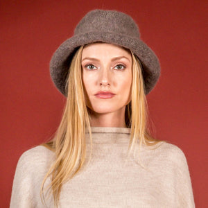 Lauren Manoogian Felt Brim Hat - Graphito