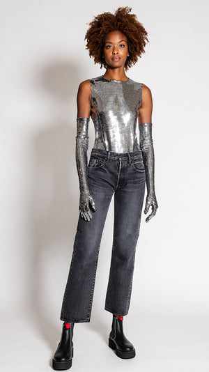 MM6 by Maison Margiela Disco Bodysuit